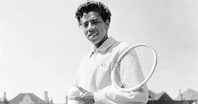 Althea Gibson, first Black tennis player to compete with whites