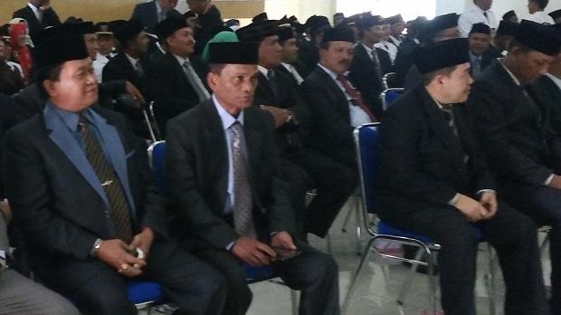 Sebanyak 32 PNS mantan pejabat eselon II,III dan IV Gayo Lues Gugat SK Bupati !