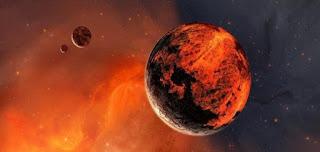 كوكب المريخ ( الكوكب الاحمر )