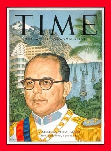 Revista Time Marcos Pérez Jiménez 1955