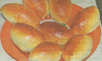 Вкусные пирожки с горохом, необходимые ингредиенты и способ приготовления.