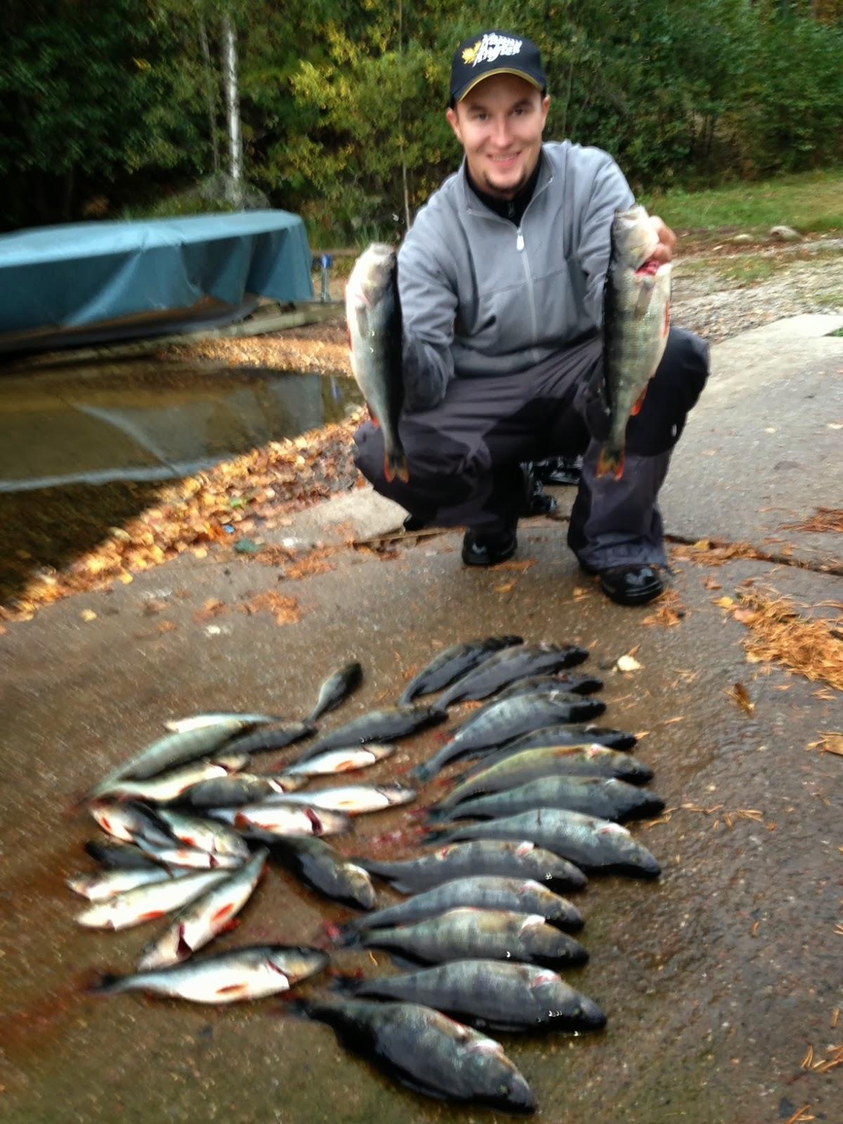 Lake Saimaa fishing travels: Fishing in Finland at lake Saimaa. September 2013