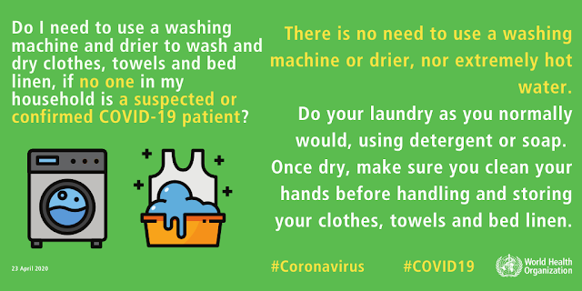 ( WAYS TO STAY AWAY FROM CORONAVIRUS )