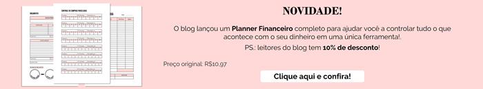 Planner Financeiro Completo para Download e Impressão