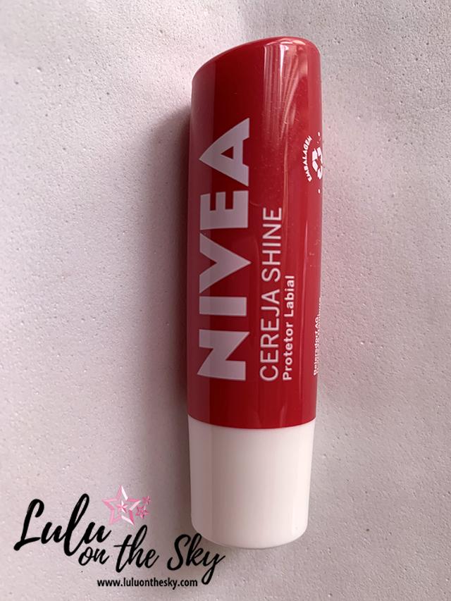 NIVEA Protetor Labial Cereja Shine