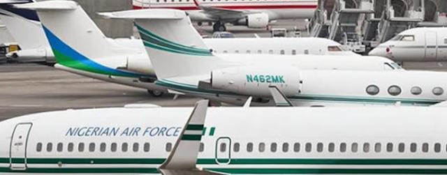 FG puts nine-year-old presidential jet on sale