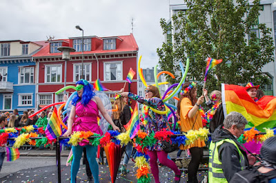 Over 100,000 celebrate at Reykjavik Gay Pride every year!