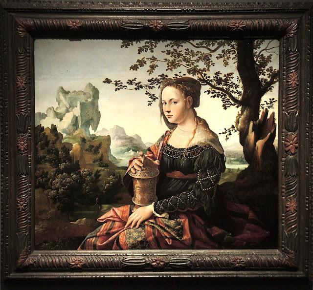 Maria Magdalena door Jan Van Scorel
