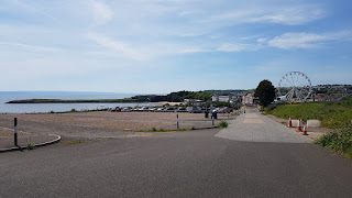 The view of Barry Island from within the old holiday camp site