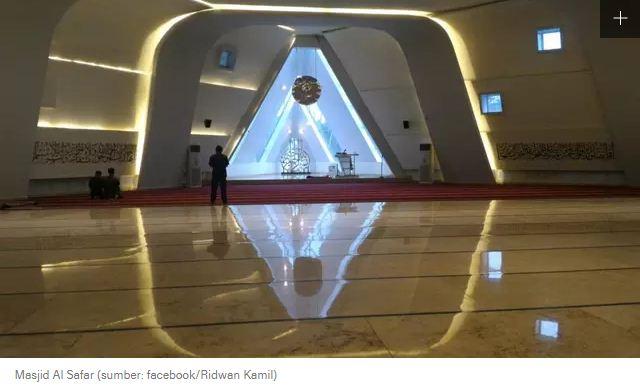 Desain Masjid Al Safar Dituding Illuminati