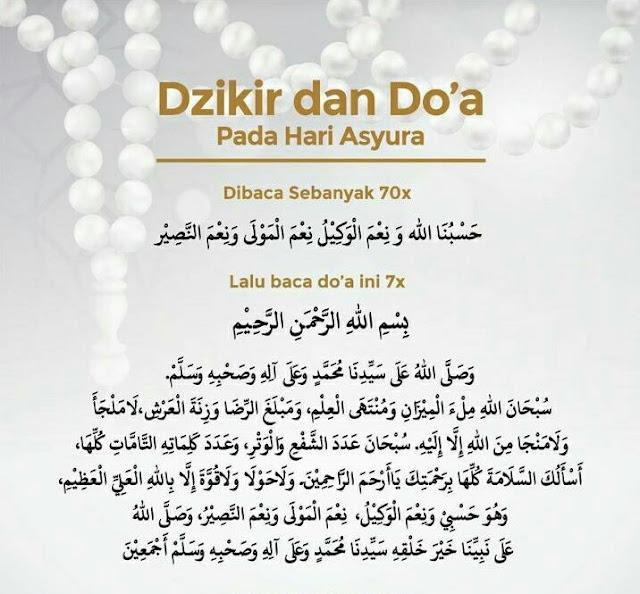 Tata Cara Sholat Sunnah Asyura