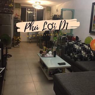 căn hộ đầy đủ nội thất chung cư phú lợi d1 phường 7 quận 8