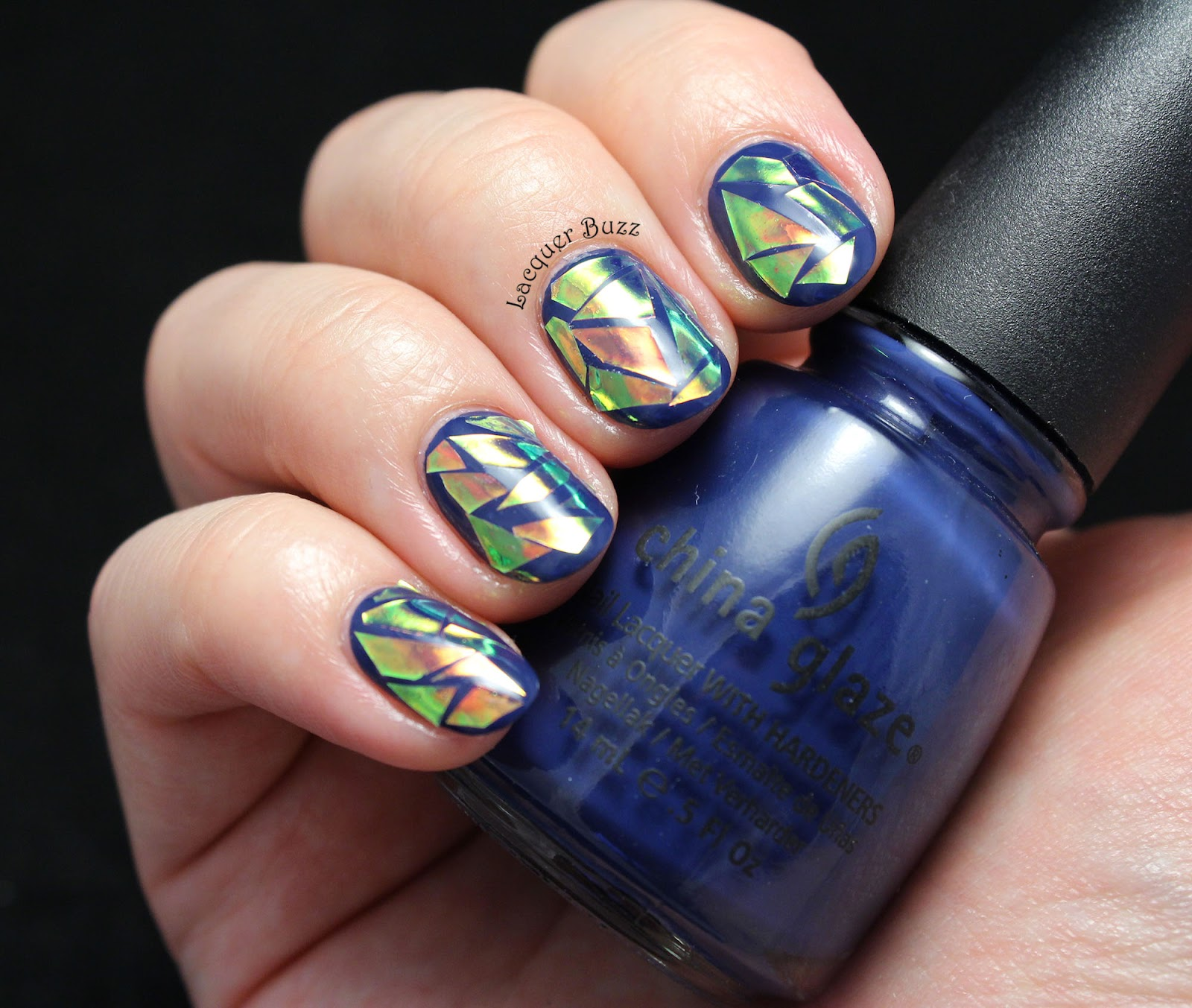 Lacquer Buzz: Monday Blues: Glass Nails