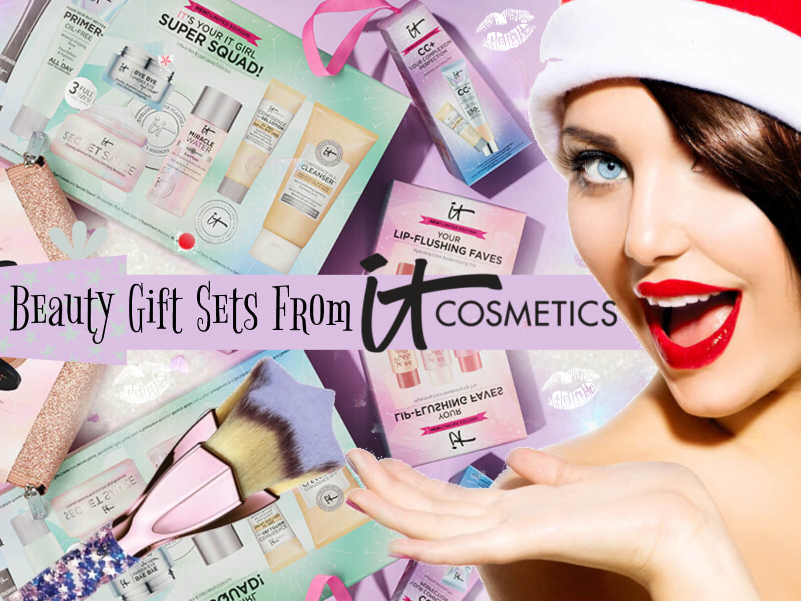Itcosmetics holiday gift sets by top beauty blogger Barbies Beauty Bits