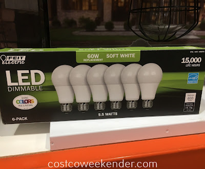 Ensure the inside of your house is well list with Feit Electric 60-watt Replacement LED Dimmable Bulbs