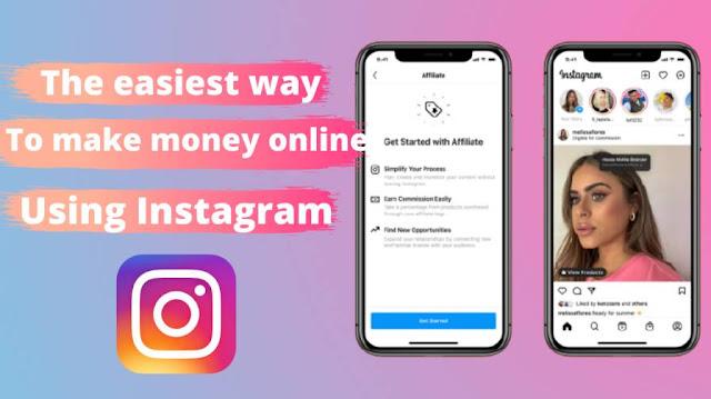 make money online using Instagram