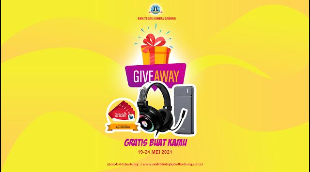 Giveaway SMK TI Bali Global Badung - Ai Gadget Service
