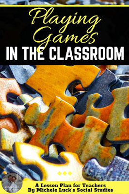 Playing games can be an effective strategy for teaching content in your middle or high school classroom. Use these ideas to help your students review material, investigate topics, meet standards, or have fun while practicing skills. #teaching #learning #classroomfun #games