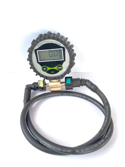 fuel pump tester digital