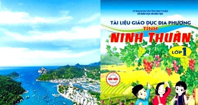 Ninh Thuận: Đưa tài liệu giáo dục địa phương vào chương trình dạy học chính khóa