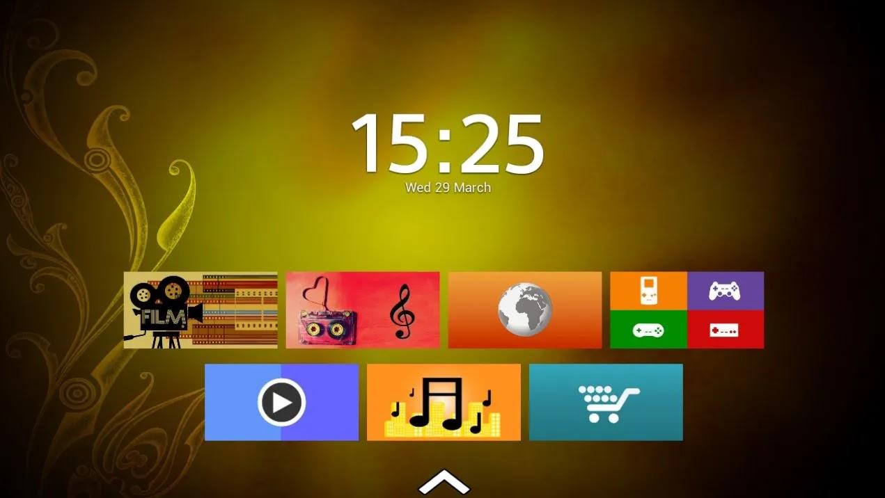 Top Tv Launcher 2 التطبيق