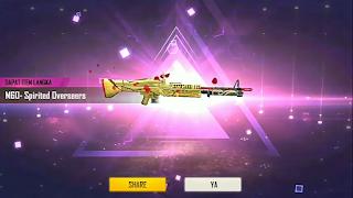 M60 Spirited Overseer Free Fire dan Skill Armor Penetration