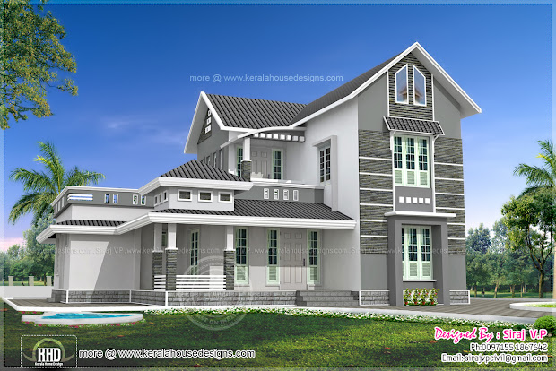 2000 Sq FT 2 Story House Plans