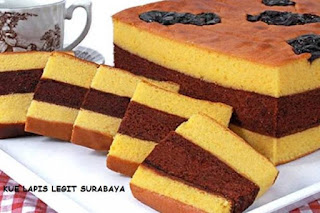 Resep Kue Lapis Legit Surabaya Selai Strawberry