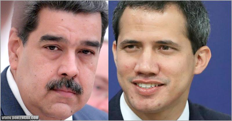 Así se defiende Guaidó por el acuerdo firmado con el narco-dictador Maduro
