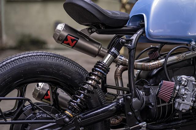 BMW R100 By Ironwood Custom Motorcycles Hell Kustom