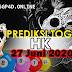 Prediksi Togel HK 27 Juni 2020