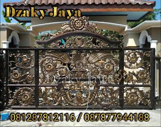 Pintu Gerbang Besi Tempa Klasik Mewah