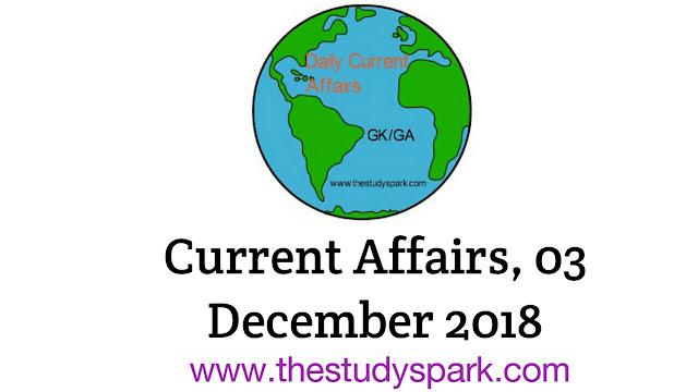 current affairs, 03 december