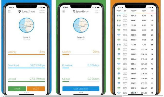 Aplikasi Internet Speed Test Terbaik tuk iOS - SpeedSmart