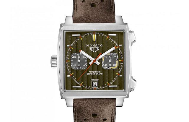 TAG Heuer Monaco Calibre 11 50th Anniversary 1970's Special Edition (ref. CAW211V.FC6466)