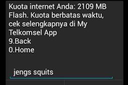 Cara rahasia mendapatkan kuota rutin 300 MB dari Telkomsel secara gratis