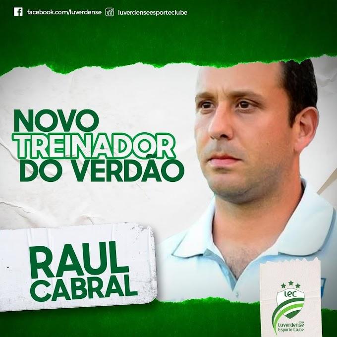 Luverdense anuncia o técnico Raul Cabral