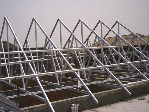 harga rangka atap baja ringan di malang jasa pasang