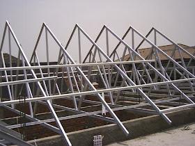 baja ringan murah depok jasa pemasangan rangka atap