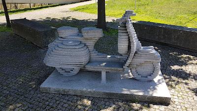 vespa di pietra di Guimarães