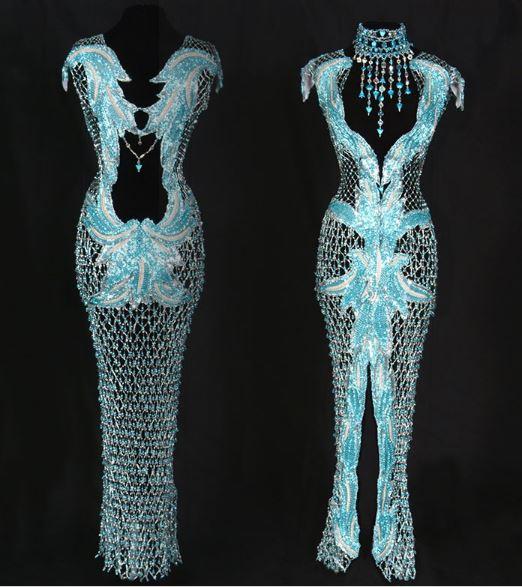 Largest Wedding Dress: World's Largest Beaded Wedding Dress And Other Amazing