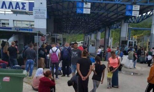 Πλαστά PLF –έντυπα εντοπισμού εισερχομένων- πούλησε ένας ημεδαπός σε Αλβανούς που επιθυμούσαν να εισέλθουν στην Ελλάδα.