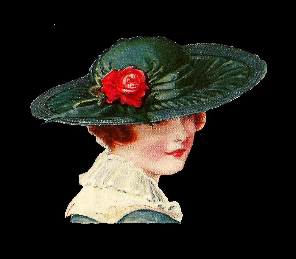 Vintage Hat Transparent PNG Clip Art Image | Gallery ...  |Vintage Hat Art