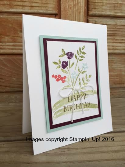 Isnt This A Cute Card She Used The Number Of Years Stamp Set And An Inspiration Sample From Occasions Catalog To Create It