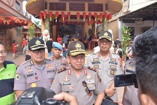 Kapolda Jambi Pastikan Aman Dalam Perayaan Imlek