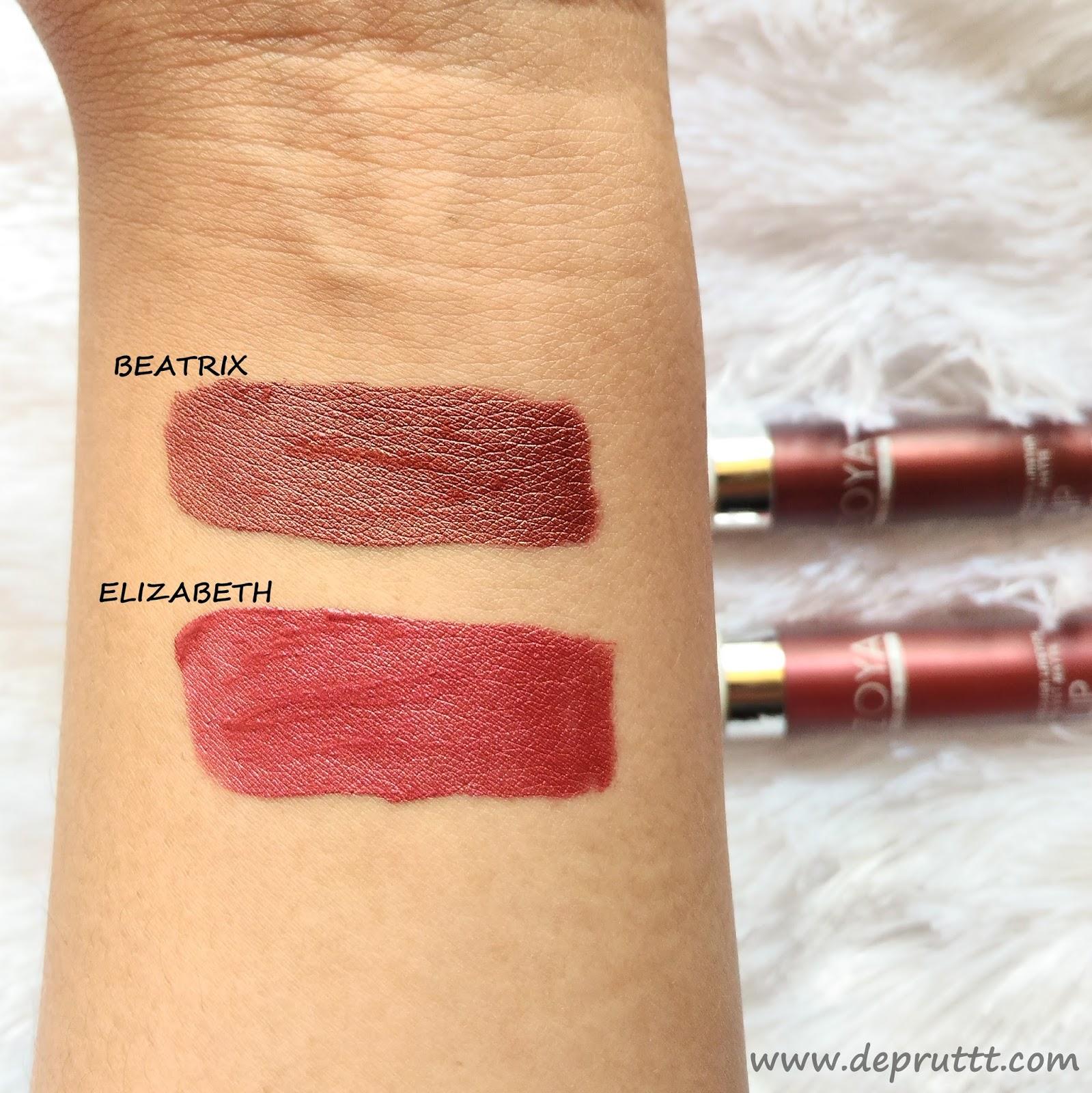 Devi Purwati Review Zoya Cosmetics Metallic Lip Paint Untuk Masalah Warna Aku Sudah Sedikit Memberi Clue Diawal Tadi Jadi Buat Kalian Yang Pergi Ke Pesta Cocok Banget Pakai Soalnya Lipsticknya Ada Glitter Nya