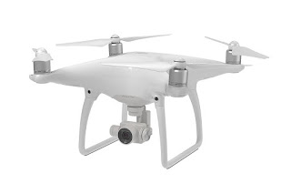 DJI Phantom 4 Side View