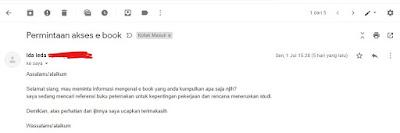 permintaan email pasword ebook peternakan
