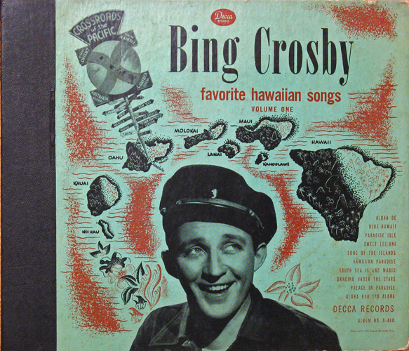 Contemplations on Classic Movies and Music: Bing Crosby Records and Album Covers