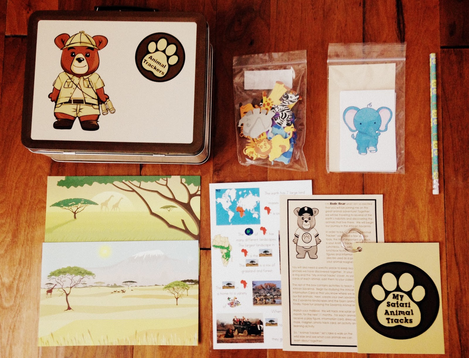 Plan To Happy Animal Trackers Subscription Box For Kids
